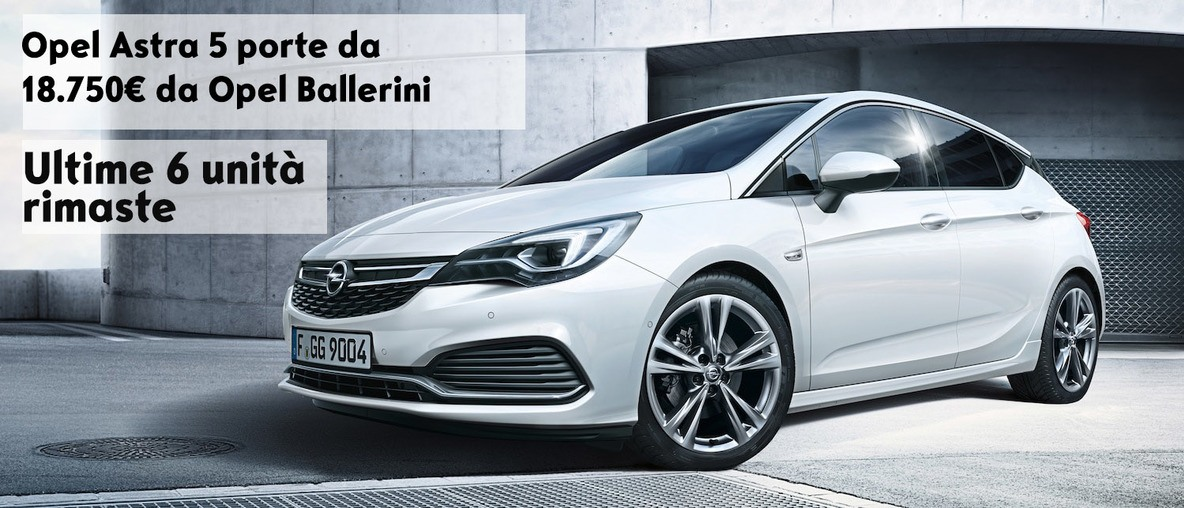 offerta speciale astra