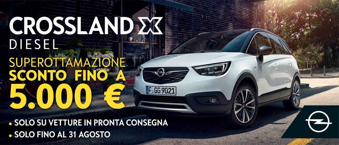 Opel Crossland X Autentika Breascia