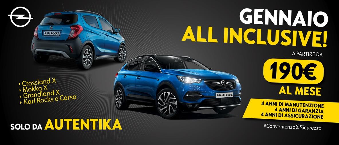 Opel Autentika All inclusive