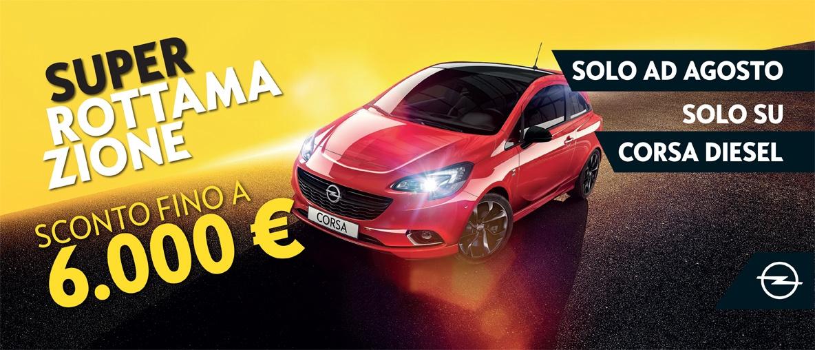 Opel Corsa Rottamazione
