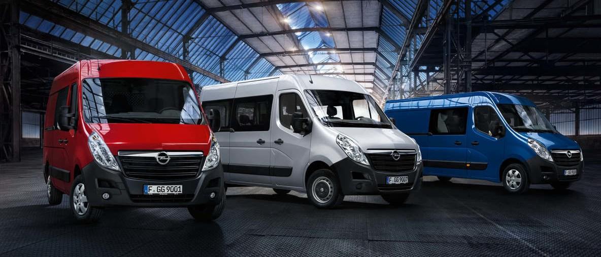 Noleggio furgoni concessionaria Opel Alessi e Messina