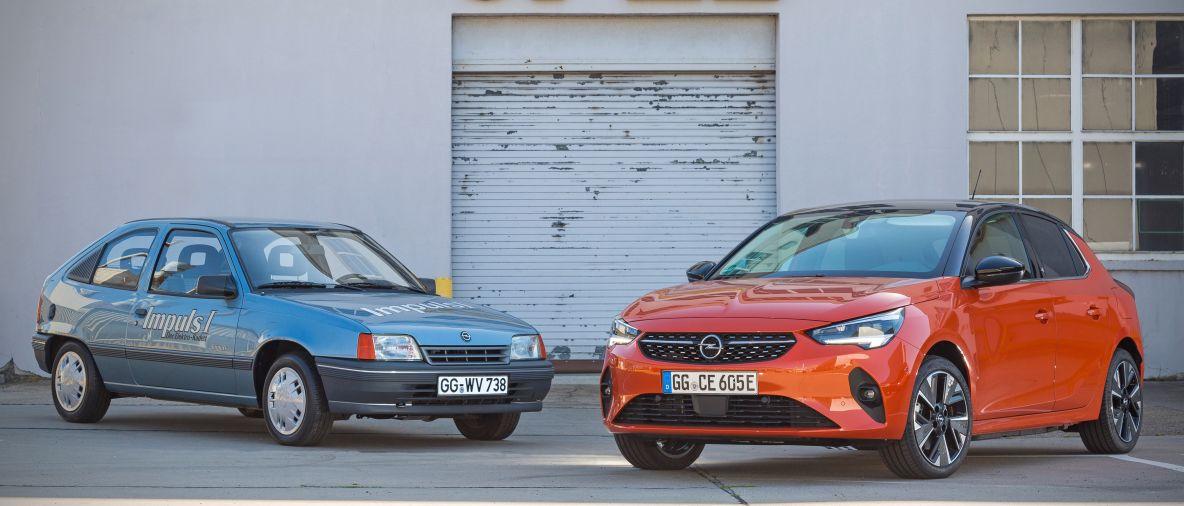 L'antenato di Opel Corsa-e: Buon Trentesimo Compleanno Kadett Impuls I