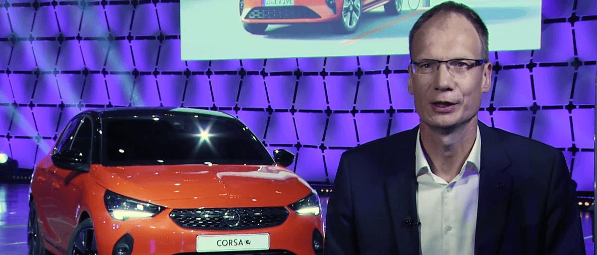 Michael Lohscheller presenta la Nuova Corsa-e