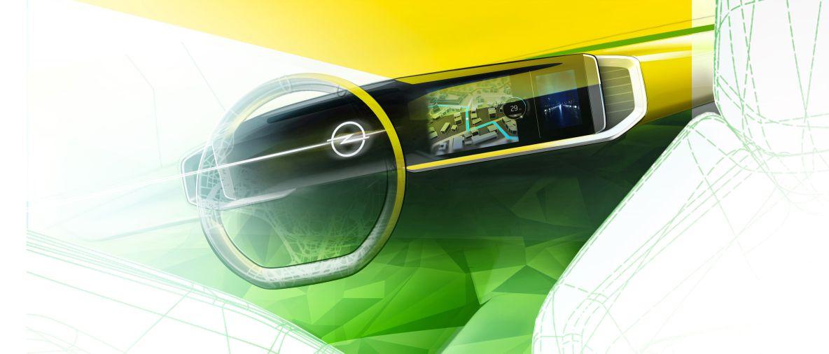 Completamente digitale: nuovo Mokka è il primo a presentare il futuro Opel Cockpit