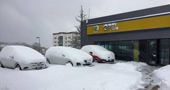 Sede esterno neve 1