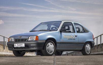 """L' """"impulso"""" elettrico Opel di 30 anni fa"""