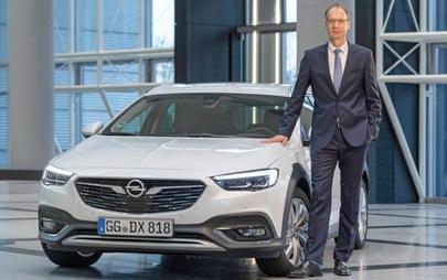 """Michael Lohscheller, CEO di Opel, è il """"Manager dell'anno 2019"""""""