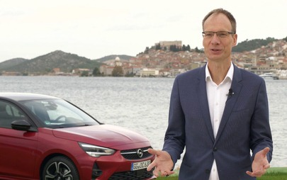 Michael Lohscheller, CEO di Opel, presenta la Nuova Opel Corsa