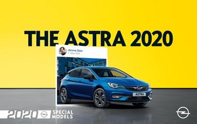 """Il nuovo anno inizia con le versioni speciali """"Opel 2020"""" ricche di dotazioni"""