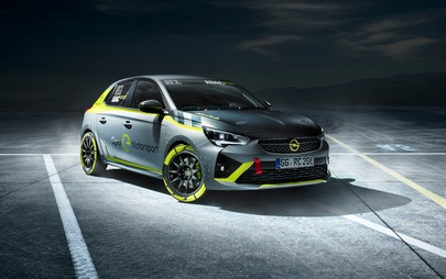 L'ADAC Opel e-Rally Cup presentata al Salone dell'Automobile di Essen