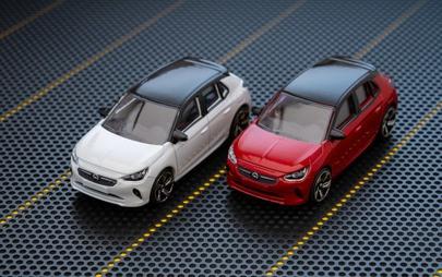 Piccola ma divertentissima: la nuova Opel Corsa ora disponibile anche in versione modellino