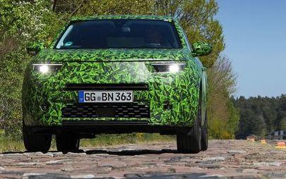 Nuovo Opel Mokka al collaudo su strada verso la produzione