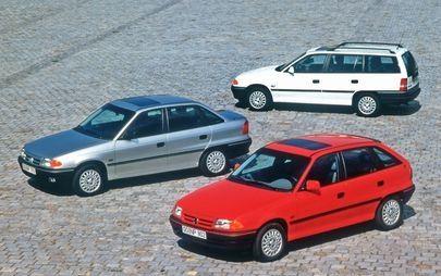 La storia di un successo enorme: 30 anni fa l'anteprima mondiale della Opel Astra F
