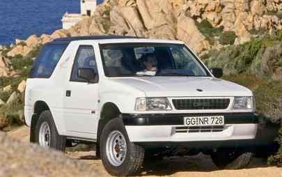 Trendsetter e Bestseller: buon 30° compleanno, Opel Frontera