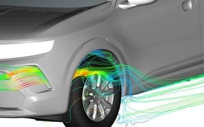 Nuovo Opel Mokka: aerodinamica top per una maggiore efficienza e minori emissioni