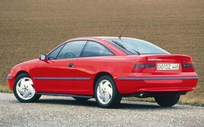 Quando Opel Calibra mise il turbo