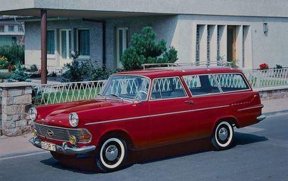 60 anni di Opel Rekord P2
